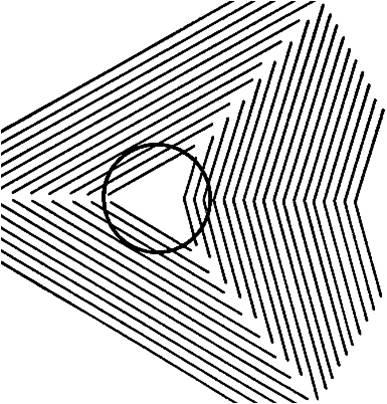 Aunque no lo parezca, es un círculo.