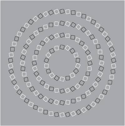 Parece una espiral, pero son círculos...